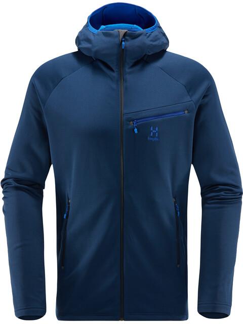 Haglöfs M's Nengal Mid Hood Jacket Tarn Blue